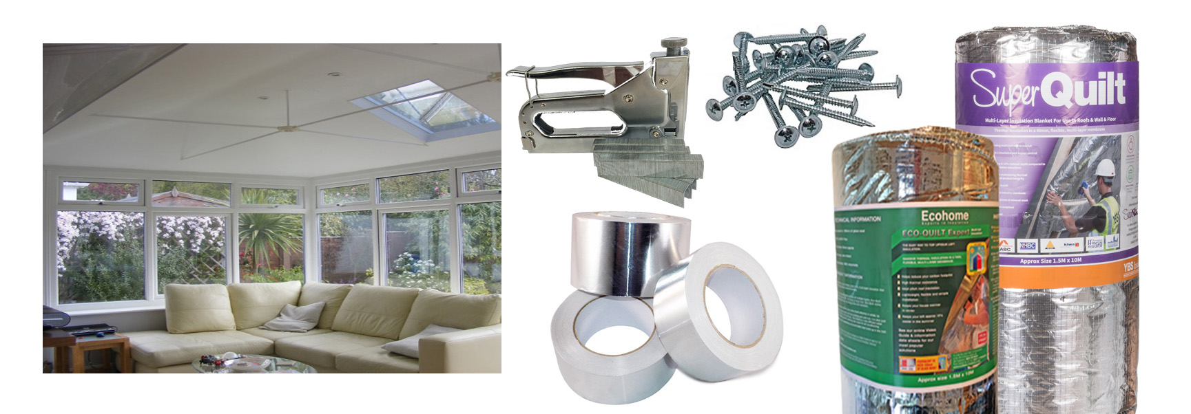 Conservatory Insulation Kit 1