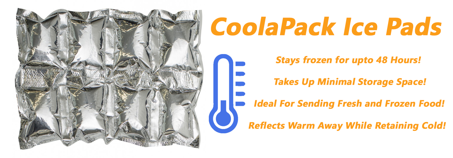 CoolaPacks Ice Pads - Insulate It