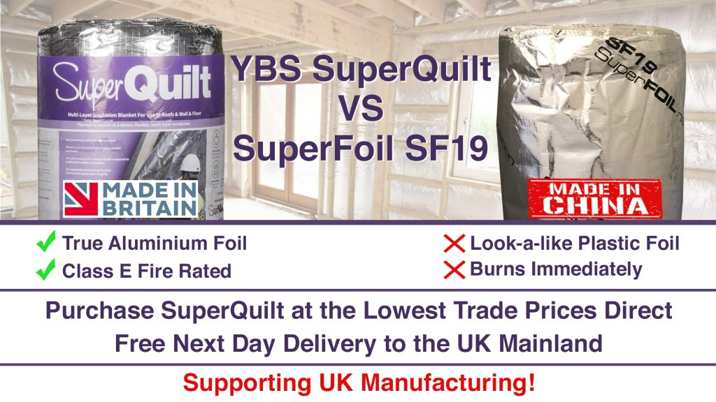 SuperQuilt vs SuperFoil