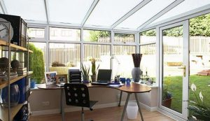 conservatory as office