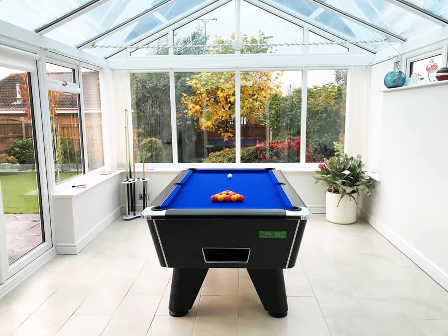 conservatory games room
